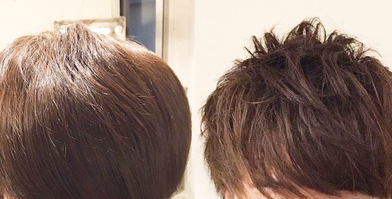 カラー 白髪染め 違い ヘア