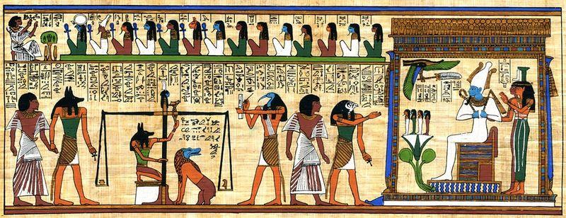 哲学】古代エジプト人の死生観~死者の書~   ALIS